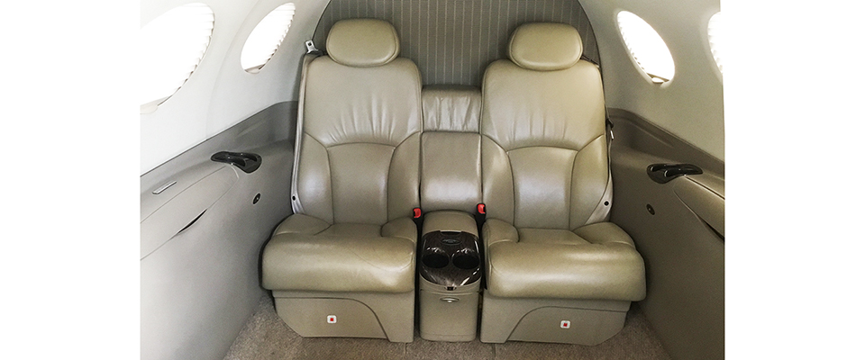 Cessna Citation Mustang Interior